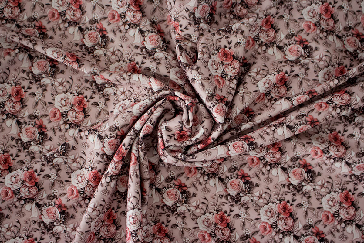 Malha Montaria Floral